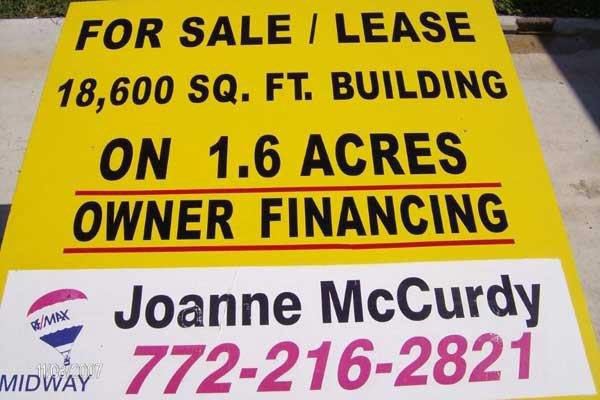 Real Estate Signs by Sign Art Plus of Port St Lucie