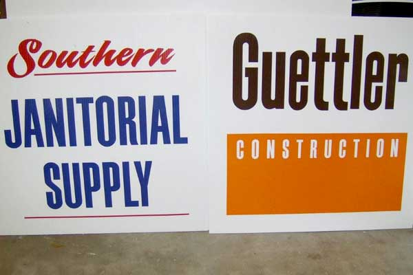 Signs and Decals for Sponsoring Special Events are available at Sign Art Plus