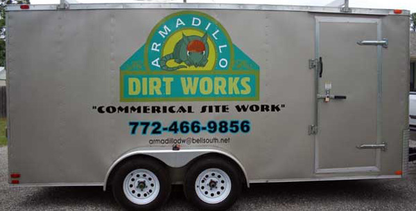 Trailer Signs, Graphics, Warps and Lettering by Sign Art Plus of Fort Pierce