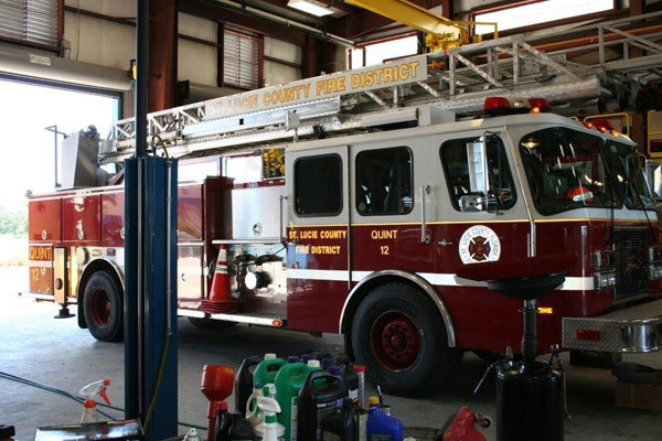 Fire Engine Signs and Lettering are available at Sign Art Plus in Vero Beach Florida