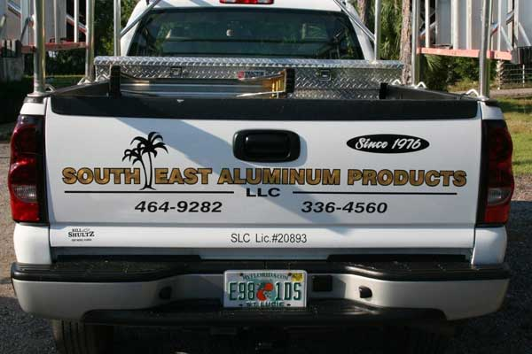 Airplane Signs, Graphics and Lettering in Vero Beach Florida