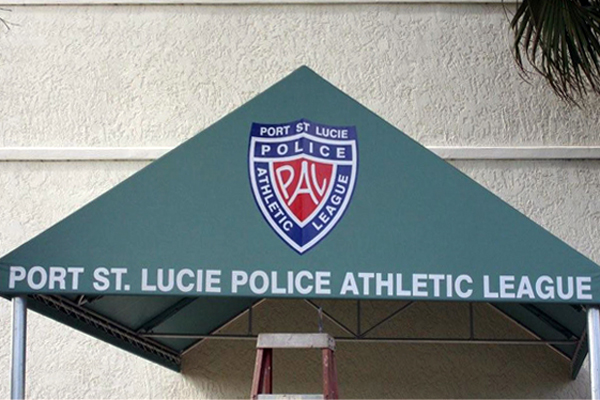 Custom Sign Awnings by Sign Art Plus of Vero Beach