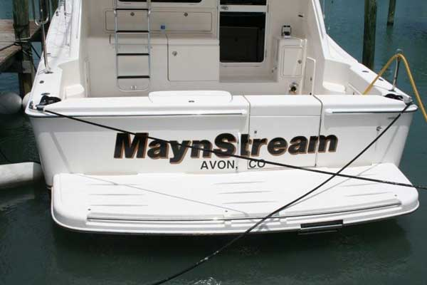 Boat Signs in and near Vero Beach