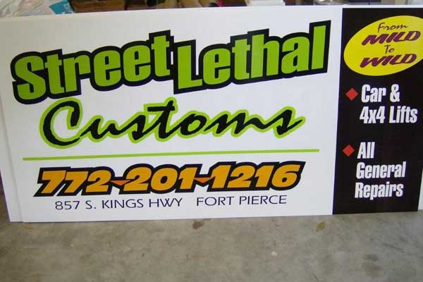 Fair Signs in Vero Beach Florida
